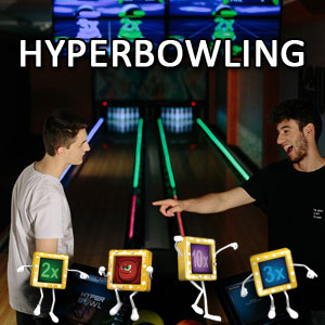 Hyper Bowling choice button