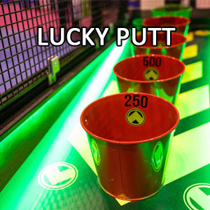 Lucky Putt mini golf hole
