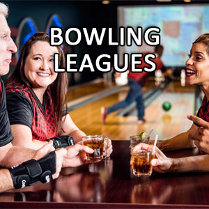 image of people league bowling