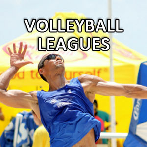person playing volleyball league
